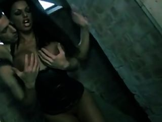 Super Hot Big Tits Latex Babe Fucked Hard