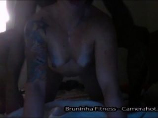 Compilation Of Bruna Homemade Hardcore Fucks - Blowjob, Anal, Doggy, Bdsm