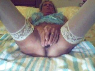 Granny And Her Black Dildo
