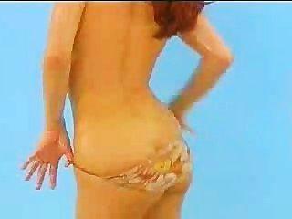 Bettie Ballhaus Oils Her Juicy Boobs