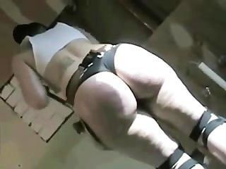 Crystal Bottoms Works Her Big Ass Off