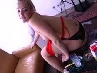 Milk Cocktail From Ass, Then Brush Teeth With Cum