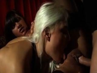 Anal Trio Blonde & Brunette