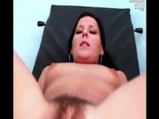 Hairy Pussy Teen Katie Gyno Speculum Examination At Gyno Clinic