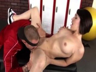 Short Haired Teen Katie Michaels Fucked Hard By Her P.e. Teacher