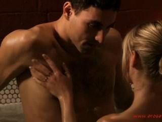 Erotic Bath And Sensual Kiss
