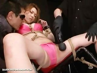 Japanese hardcore sex and bondage