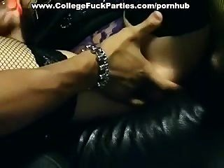 Naughty Girls At Sex Party