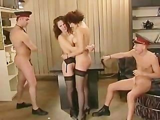 Group Sex At The Police Station