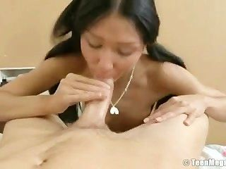 His Meat Enters Her Butt And Nails Her Very Well