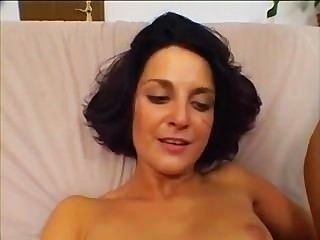 Small Tit Brunette Gets Her Ass Fucked Only