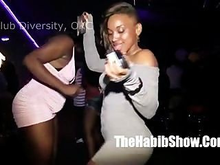 Fucking Around With Some Black Hoes At Club Diversity Okc