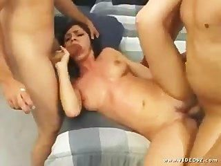 Veronica Fox Rough Dt Ff Threesome