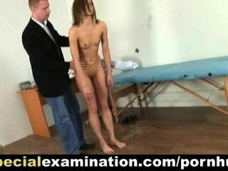 Sweet Teen Babe At Very Special Medical Examination