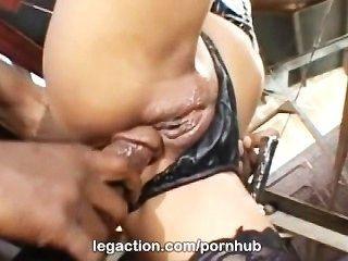 Legaction Kaylani Lei Interracial In Stockings