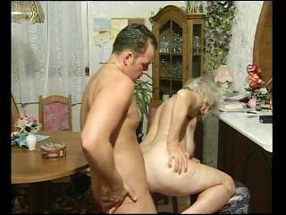 Granny Got Jizzed