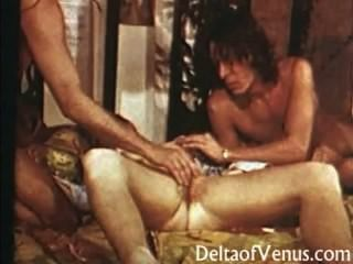 Hairy Pussy Vintage Teen Gets Fucked - 1970s Porn
