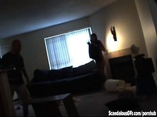 The Spycam That Caught Their Lesbian Tryst