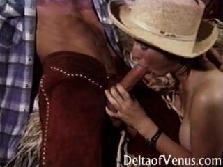 Vintage Porn - Hairy Teen Cowgirl Fucks Boyfriend