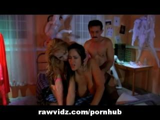 Wild Threesome Gets Started
