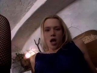 Camilla Krabbe - Cute Blonde Teen Fucks Workman