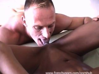 French : Amateur Black Woman In Her First Video