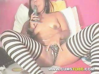 Super Sexy Latina On Webcam