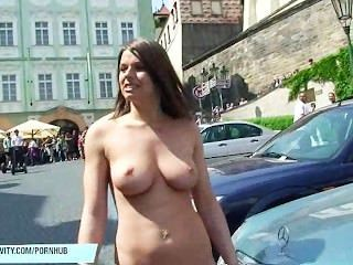 Exhibitionism nude public