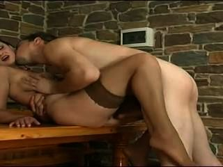 Milf Gets Fucked By Young Man.