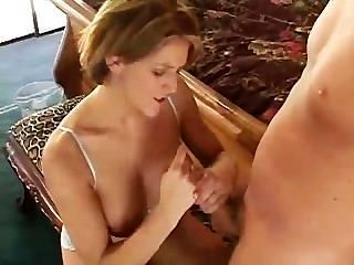Eve Lawrence Massaging The Meat Rod