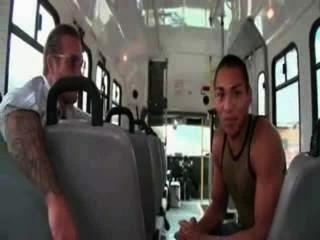 Amateur Gay Bus Blowjob