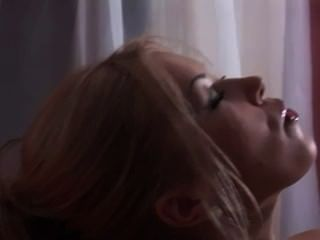 Sexy Smoking Blonde