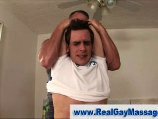 Straight Amateur Hunk Gets Hard