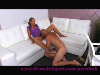 Femaleagent. Casting Agent Fucked Good And Hard