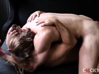 Colby Keller & Gabriel Clark Flip-fuck