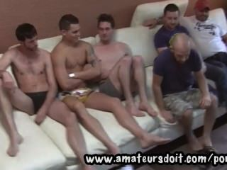 Meet Hot Amateur Aussie Guys And Watch Them Get Ready For A Group 6way