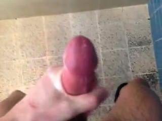 Gym Shower Jackoff