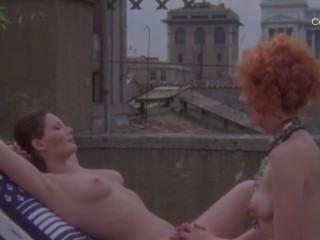 Lia Tanzi And Edwige Fenech In La Vergine Il Toro E Il Capricorno
