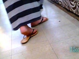 Long Dress Latina Feet