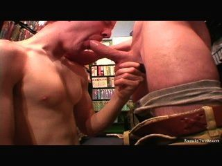 Hunky Blonde Anal Bareback Action