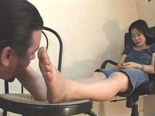 Foot Worship 13 - French/asian Worship