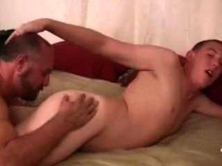 Hairy Dad Fucks Hitchhiker