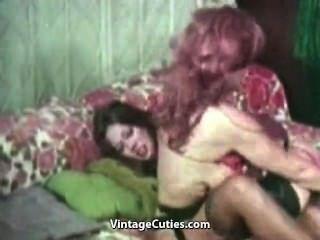 Busty Lesbians Fighting And Masturbating