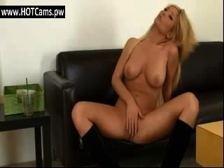 Live Chat With Busty Blonde Cougar Wile Rubbing Her Pussy - Www.hotcams.pw