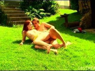 Wild And Raunchy Garden Sex