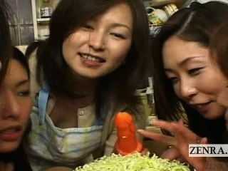 Subtitled Japan Milfs And Cougars Cfnm Oral Food Party