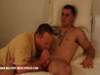 Marine Marco Cums All Overs