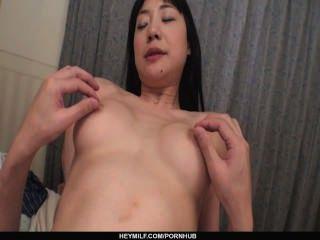 Miho Wakabayashi Sucks In Pov And Gets Creampied