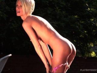 Lesbian dobule dildo