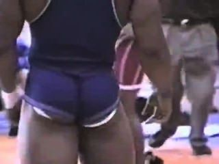 Black Guys Jockstrap Showing